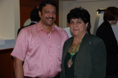 IIRSM President with Anil Menon