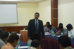 Anil Menon , Lead Tutor ASHEI in training