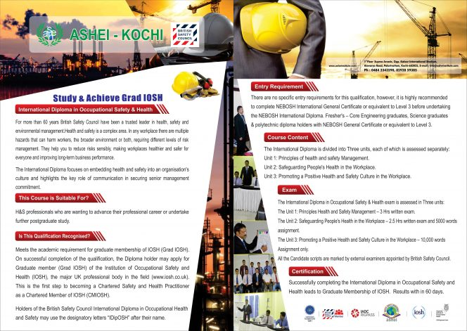 IOSH courses in kerala