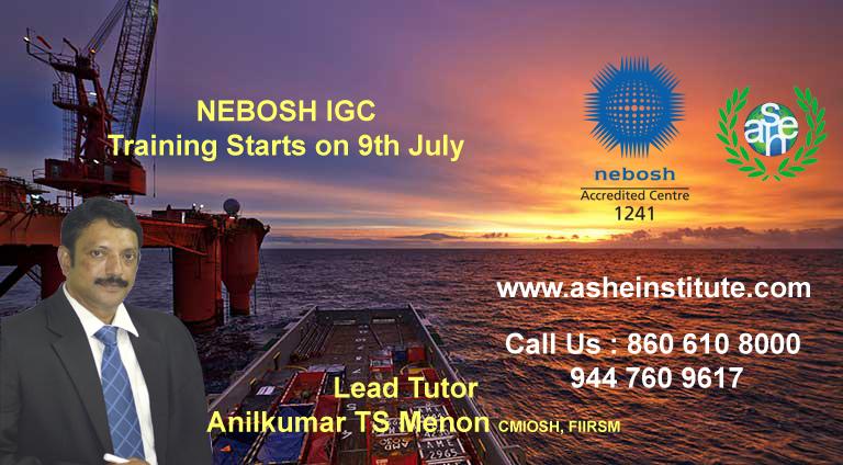 Nebosh In Kerala | Safety Courses In Kochi