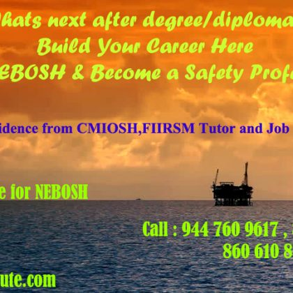 Nebosh course in kochi