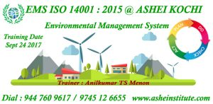 ISO 14001 ems auditor courses in kerala