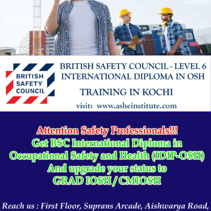 BSC level 6 international diploma course