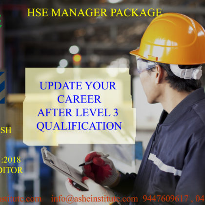 HSE Manager Combo at ASHEI 9447609617