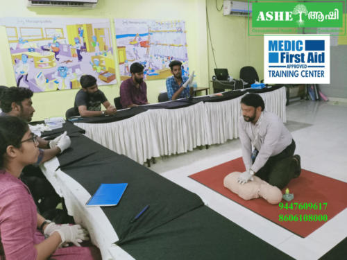 Medic First Aid Training @ ASHEI Kochi Call: 9447609617